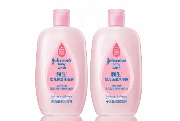 全球十大婴儿洗护用品品牌推荐2、强生婴儿