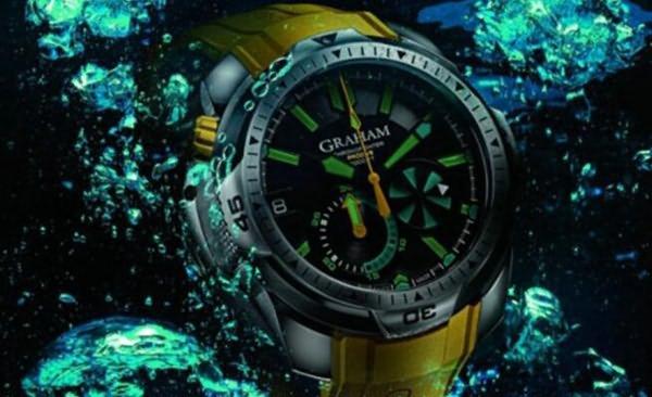 英国十大知名手表品牌3、格林汉姆Graham