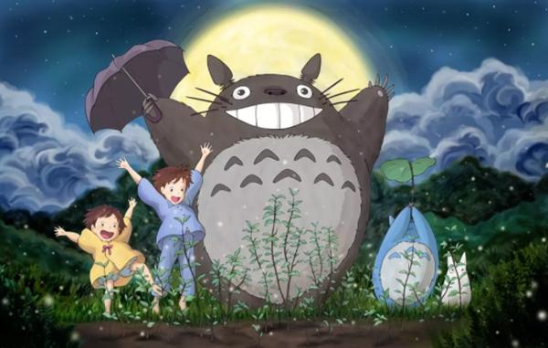 日本十大经典动漫7、龙猫