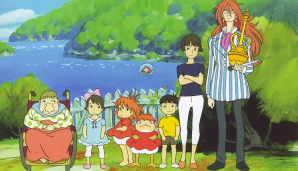 日本十大经典动漫8、悬崖上的金鱼姬