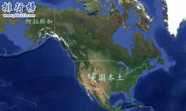 美国最大的州是哪个 阿拉斯加州占美国面积的18.4%