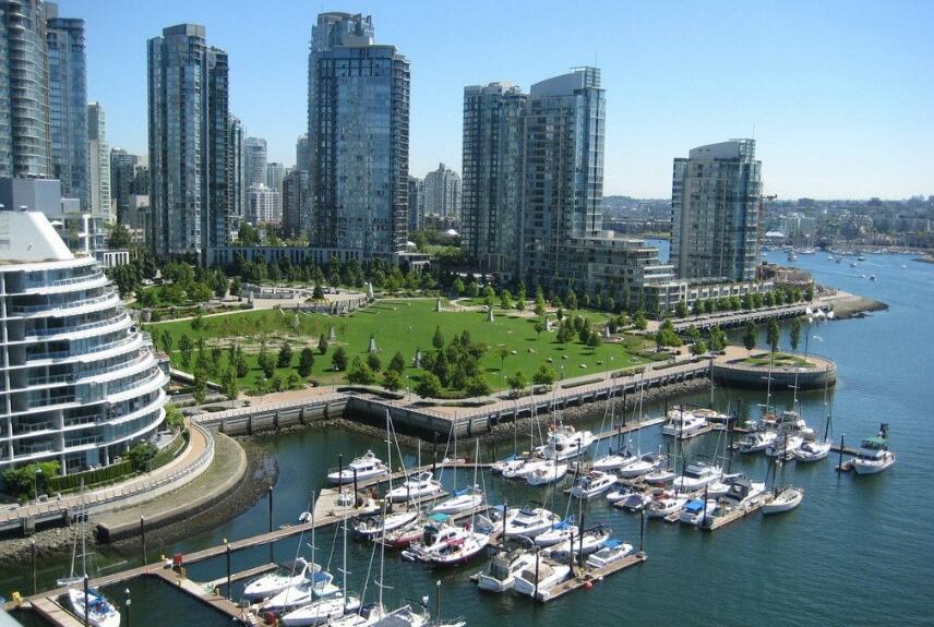 北美洲十大城市排行榜一、温哥华