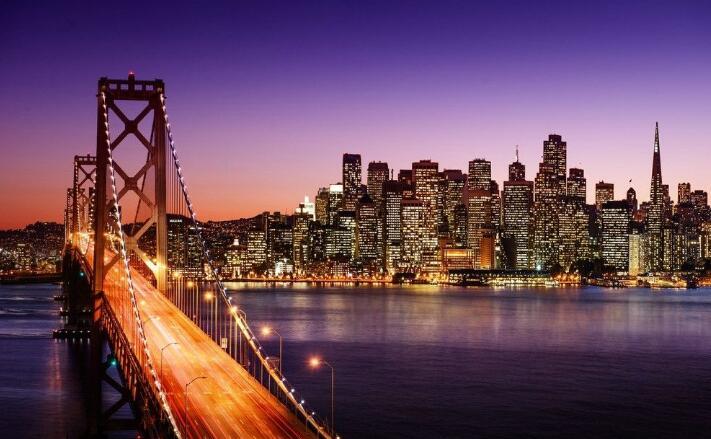 北美洲十大城市排行榜六、旧金山
