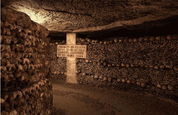 世界十大最恐怖的地方2、巴黎地下墓穴