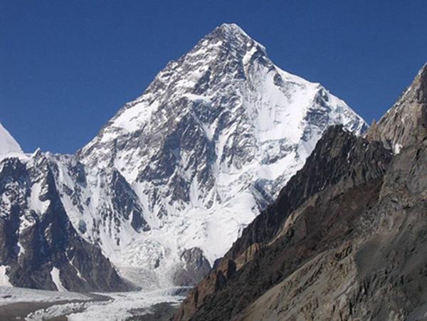 世界排名前十的著名高山2、乔戈里峰