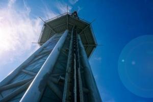 世界上最高的跳楼机,484米高度极速落地,太刺激了!