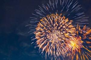 日本燃放世界上最大的烟花,创世界吉尼斯纪录
