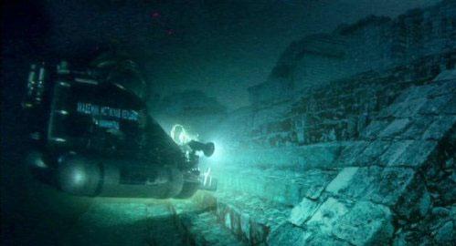 台湾澎湖海底发现远古文明
