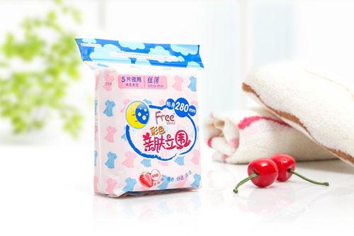 卫生巾十大品牌排行榜九、Free