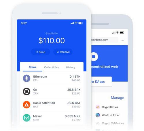 十大数字货币钱包排行榜四、Coinbase钱包