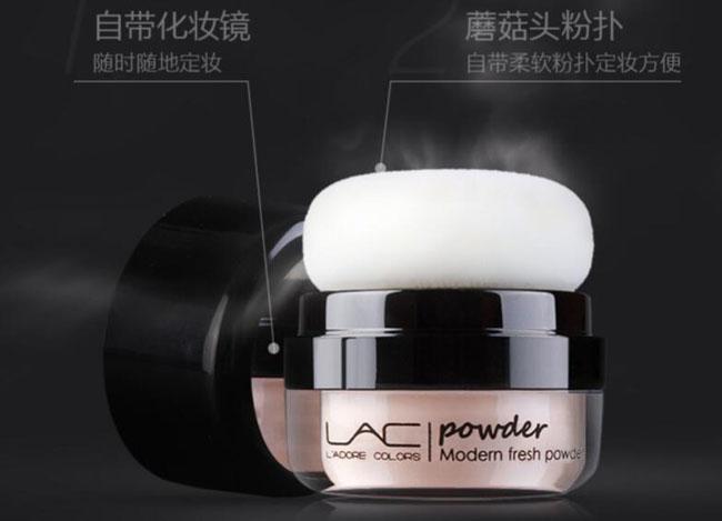 散粉品牌排行榜前十名2、烙色定妆粉隔离修容散粉