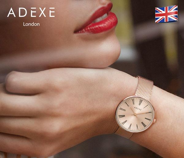 英国十大知名手表品牌10、ADEXE