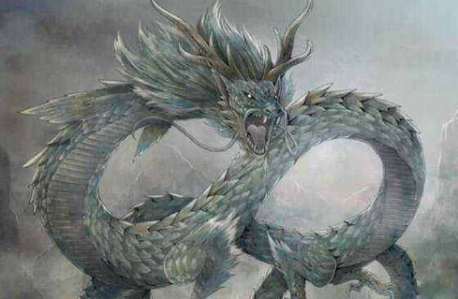 上古大荒十大凶兽排名八、蓝翼海龙兽
