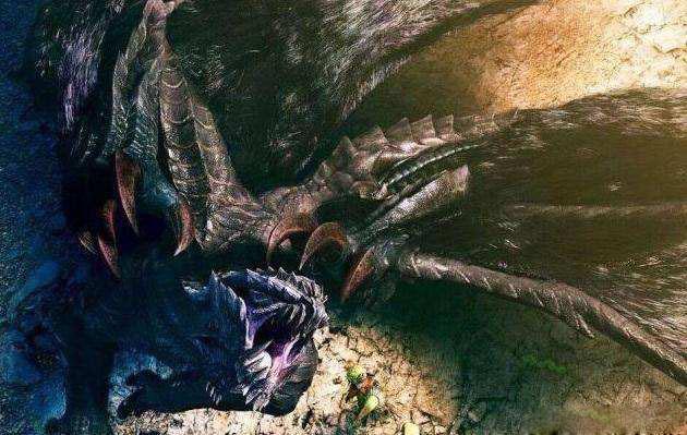 上古大荒十大凶兽排名四、冰甲角魔龙
