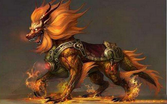 上古大荒十大凶兽排名三、赤炎金猊兽
