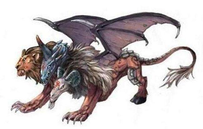 上古大荒十大凶兽排名六、九翼天龙