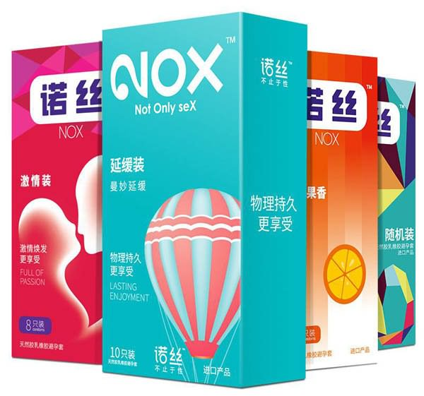 十大避孕套品牌排名七、NOX 诺丝