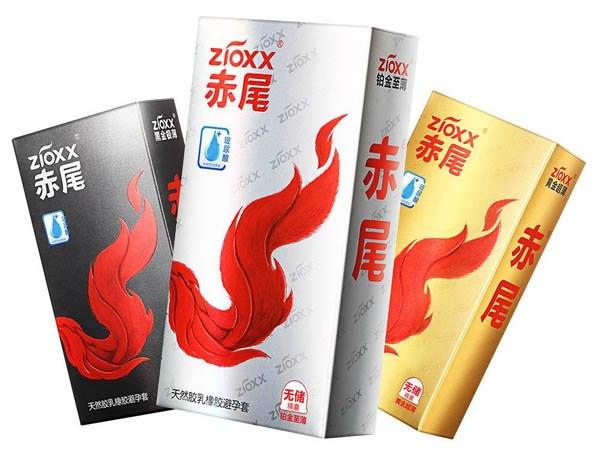 十大避孕套品牌排名九、赤尾