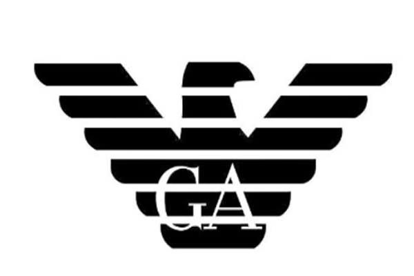 十大名牌包包商标LOGO标志四、阿玛尼